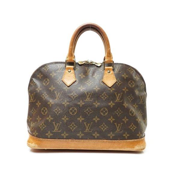 Auth Louis Vuitton Alma Hand Bag #7621L16